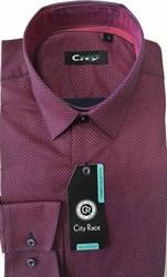 Мужская рубашка CITY RACE BROSTEM приталенная  CR112 Z