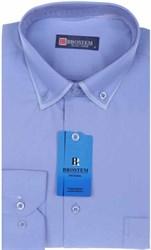 Мужская рубашка BROSTEM 3911VS95 Z полуприталенная