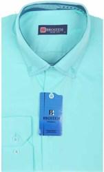 Мужская рубашка BROSTEM 4725VS58 Z-pp приталенная