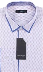 Мужская рубашка City Race BROSTEM приталенная  CR105-41 Z-pr