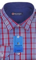 Мужская рубашка BROSTEM приталенная хлопок 100 %  K6-260-pp