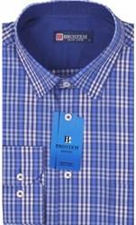 Мужская рубашка BROSTEM приталенная хлопок 100 %  K6-261-pp