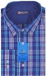 Мужская рубашка BROSTEM приталенная хлопок 100 %  K6-268-pp