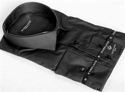 Сорочка чёрная большого размера BARKLAND 1135 BRF - B