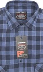 Мужская рубашка шерсть/хлопок Brostem KA16009
