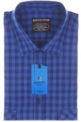 Мужская хлопоковая рубашка SH680s H Brostem