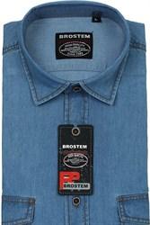 Мужская рубашка джинсовая BROSTEM LAN-2-j-Bros