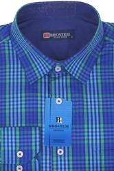 Мужская рубашка полуприталенная BROSTEM K6-272-pp-Bros