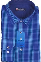Мужская рубашка полуприталенная BROSTEM K6-263-pp-Bros