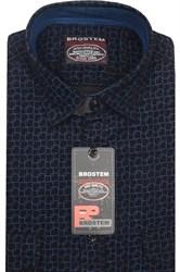 Вельветовая мужская рубашка хлопок полуприталенная Brostem  VT12