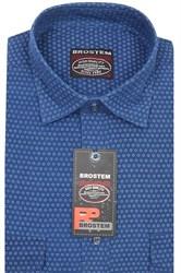 Вельветовая мужская рубашка хлопок полуприталенная Brostem  VT6