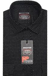 Вельветовая мужская рубашка хлопок полуприталенная Brostem  VT7