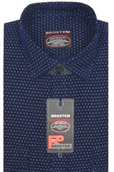 Вельветовая мужская рубашка хлопок полуприталенная Brostem  VT8