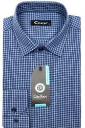 Приталенная мужская рубашка кашемир Brostem City Race KAC15018B-pr-Brostem