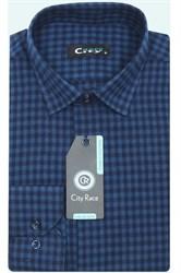 Приталенная мужская рубашка кашемир Brostem City Race KAC15028H-pr-Brostem