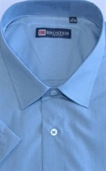 Большая мужская рубашка с коротким рукавом 8SG35-3sg