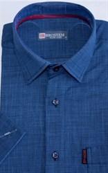Рубашка лен/хлопок полуприталенная 8SB23-1s-pp