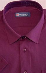 Мужская рубашка с коротким рукавом полуприталенная 8SB10-6s-pp