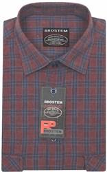 Большая фланелевая рубашка BROSTEM KA2470Ag