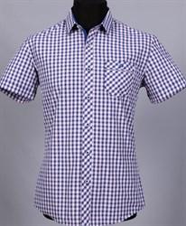 100% хлопок сорочка приталенная VESTER 10814Е-03