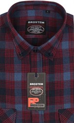 Фланель рубашка шерсть/хлопок Brostem KA16007A