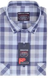 Мужская рубашка полуприталенная BROSTEM SH863