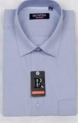 Офисная мужская рубашка большого размера CVC15Bg  BROSTEM