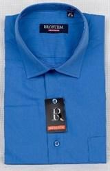 Офисная мужская рубашка большого размера CVC41g  BROSTEM