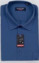Офисная мужская рубашка большого размера CVC43g  BROSTEM