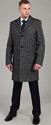 Демисезонное твидовое пальто 22407