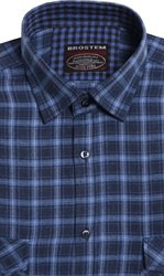 Большая фланелевая рубашка BROSTEM 8LG49+3g
