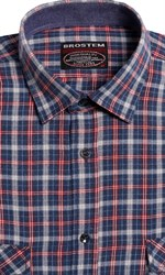 Большая фланелевая рубашка BROSTEM 8LG42+2g