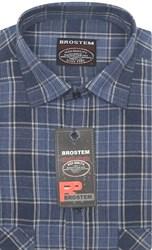 Рубашка шерсть/хлопок Brostem KA2445B