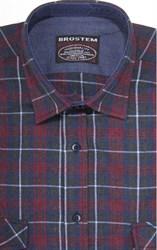 Фланелевая рубашка шерсть/хлопок Brostem 8LBR40+2