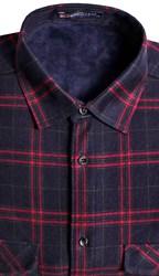 Утепленная на флисе рубашка BROSTEM 8LBR21-45