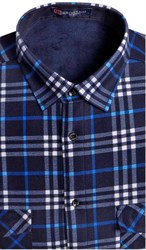Зимняя на флисе рубашка BROSTEM 8LBR21-47