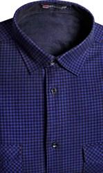 Зимняя на флисе рубашка BROSTEM 8LBR21-9