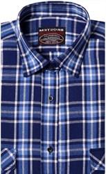 Фланелевая рубашка шерсть-хлопок BROSTEM 8LBR76-3