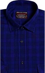 Фланелевая рубашка шерсть-хлопок BROSTEM 8LBR76-7