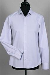 Приталенная в полоску сорочка VESTER 93814S-04