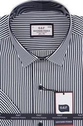 Полуприталенная рубашка к/р 8003-3