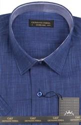 Полуприталенная рубашка к/р AS DUZ FLAM 7431-2