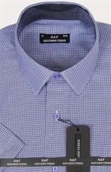 Полуприталенная рубашка к/р KAR-16099-2