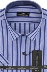 Полуприталенная рубашка к/р TEK 5222-2