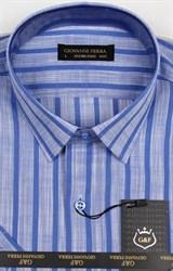 Полуприталенная рубашка к/р TEK 5222-4