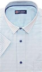 Большая мужская рубашка с коротким рукавом 8SG07-4sg