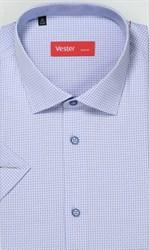 Рубашка большого размера с коротким рукавом