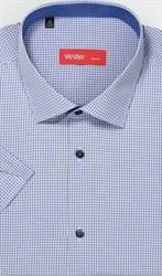 Рубашка большого размера короткий рукав