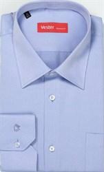 Голубая сорочка большого размера