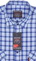 100% хлопок рубашка большая SH841sg Brostem